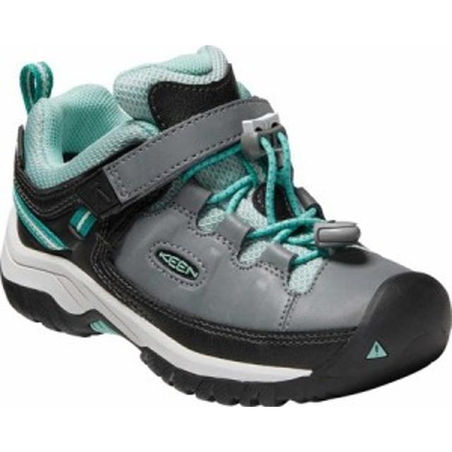 キーン スニーカー シューズ 靴 キッズ 男の子【Keen Targhee Low Waterproof Sneaker - Little Kid】Steel Grey/W