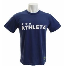 アスレタ(ATHLETA)カフェブラロゴTシャツ 3309 NVY (Men's)