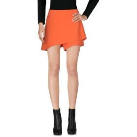 《期間限定セール開催中!》MARIAGRAZIA PANIZZI レディース ミニスカート オレンジ 42 ポリエステル 95% / ポリウレタン 5%