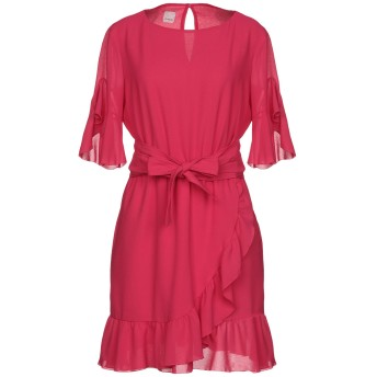 《セール開催中》PINKO レディース ミニワンピース&ドレス フューシャ 40 ポリエステル 100%