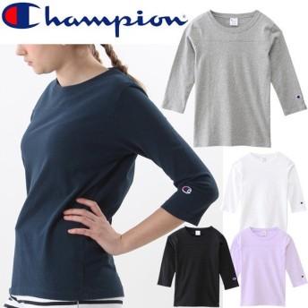 Champion チャンピオン 3/4 SLEEVE FOOTBALL T-SHIRT レディース CW-M409