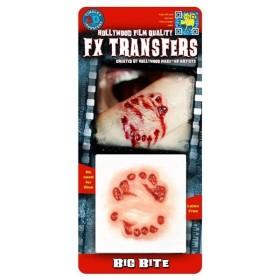 コスプレ衣装/コスチューム Tinsley Transfers Big Bite 装飾メイクシール
