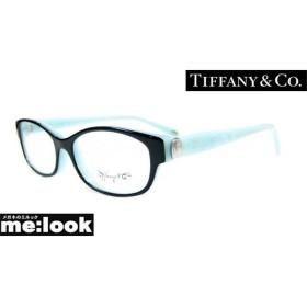 TIFFANY&CO ティファニー ミラリ正規品 レディース 眼鏡 メガネ フレーム TF2125D-8055-53 ブラック/ターコイズ