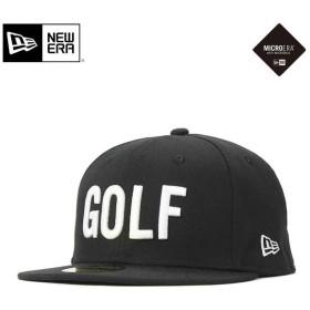 ニューエラ ゴルフ ゴアテックス キャップ 帽子 59FIFTY ブラック