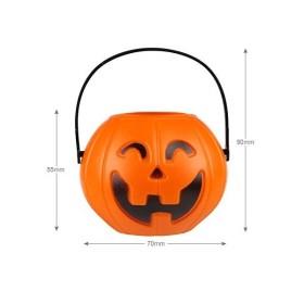 ハロウィン飾り カボチャ お菓子缶 キャンディ缶 提灯用可能 Halloweenパーティー ホームデコレーション用小物 6個入り