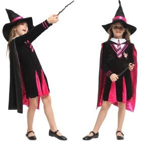 ハロウィン 仮装 子供 ワンド 魔法道具 魔女 巫女 ウィッチ コスプレ 悪魔 ワンピース 着ぐるみ 職業仮装 変装 コスチューム キッズ用 女の子 G-0346
