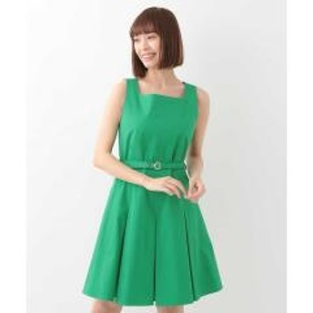 ボックスプリーツドレス IMPORTED【お取り寄せ商品】