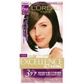 日本ロレアル ロレアルパリ エクセランス N クリームタイプ 6NB やや明るい自然な栗色 12ml+48g+48g+40g