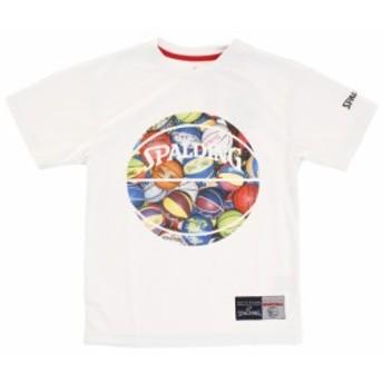 スポルディング(SPALDING)【ゼビオ限定】 ジュニア Tシャツ MultiBall SJT183050 (Jr)