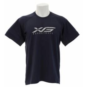 エックスティーエス(XTS)DPW バスケグラフィックTシャツ 751G8ES3537 NVY (Men's)
