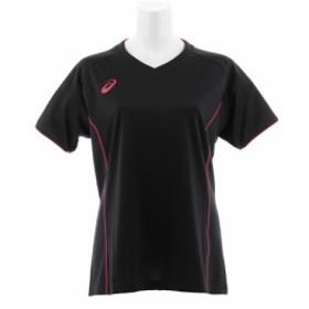 アシックス(ASICS)レディース プラクティスショートスリーブTシャツ XW6748.9031 (Lady's)