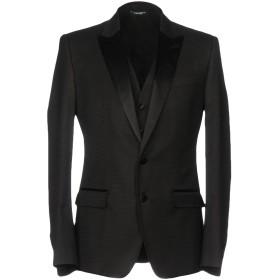 《セール開催中》DOLCE & GABBANA メンズ テーラードジャケット ブラック 44 ウール 52% / レーヨン 35% / シルク 9% / ポリエステル 4%