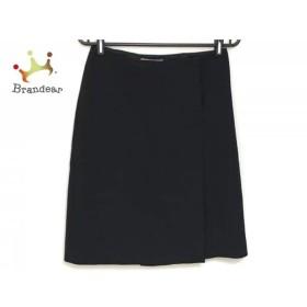 プラダ PRADA 巻きスカート サイズ40 M レディース 黒       スペシャル特価 20190928