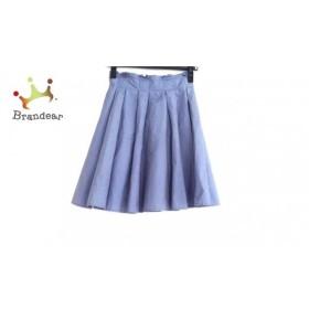 ザ ヴァージニア The Virgnia スカート サイズ36→S レディース 美品 ブルー               スペシャル特価 20190524