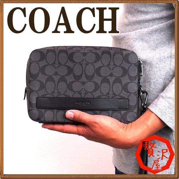 e077a87aa43b 59884BLK クラッチバッグ メンズ 人気 COACH バッグ コーチ レザー ブランド セカンドポーチ セカンドバッグ