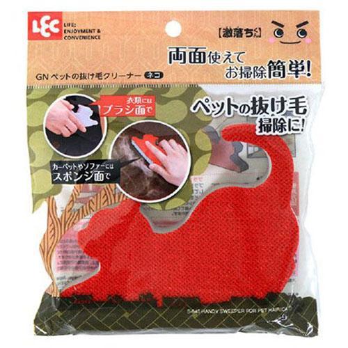 日本進口-寵物脫毛衣物清潔刷