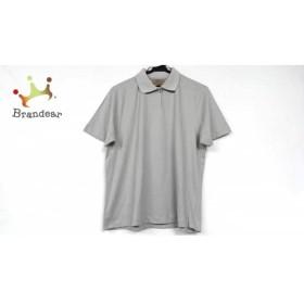 ニナリッチ NINARICCI 半袖ポロシャツ サイズL レディース 美品 ライトグレー   スペシャル特価 20190603
