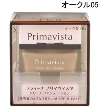 花王 SOFINA Primavista(ソフィーナ プリマヴィスタ) クリームファンデーション オークル05 SPF15 PA++ 30g