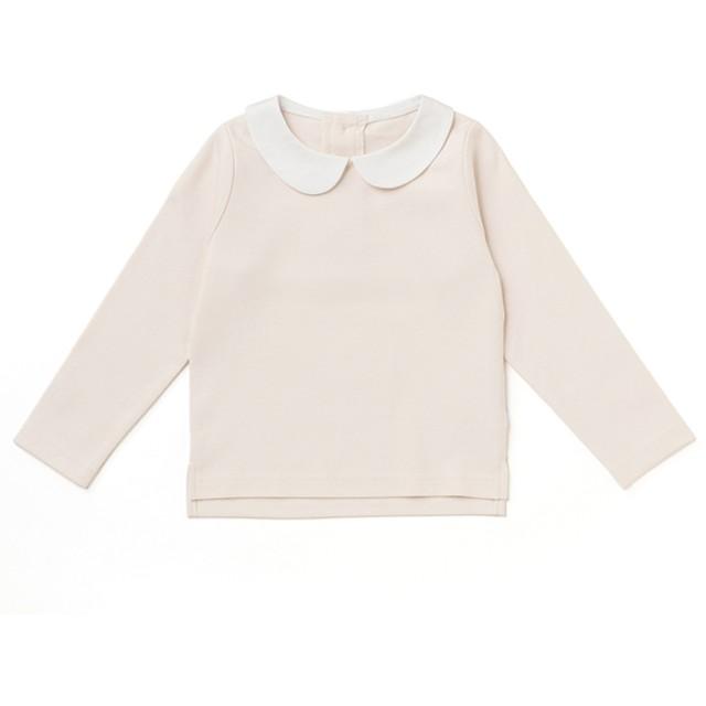 Tシャツ - petitmain 丸衿シンプルTシャツ