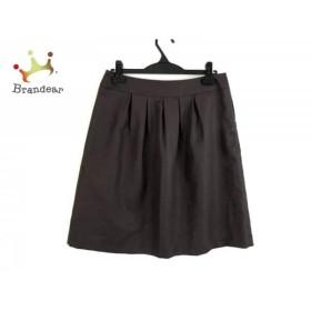ジユウク 自由区/jiyuku スカート サイズ40 M レディース 美品 ダークブラウン             スペシャル特価 20190904
