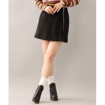 ラブレス バイアスジップスカート レディース ブラック 38 【LOVELESS】