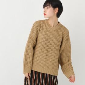 ニット・セーター - kutir 【kutir】ワッフル編みニット