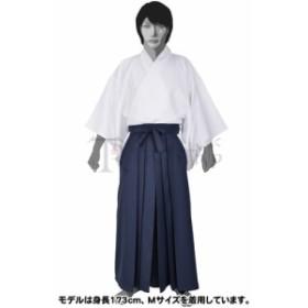 本格的! 着物・袴セット 白×紺 コスプレ 衣装 新撰組 着物 袴 男性 仮装 ハロウィン イベント
