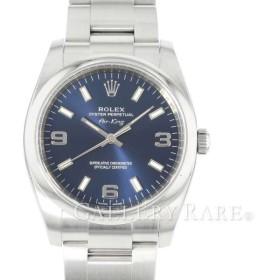 ロレックス オイスターパーペチュアル 34 エアキング 114200 ランダム ROLEX 腕時計 ブルー文字盤