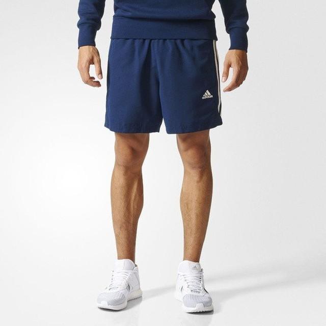 (セール)adidas(アディダス)メンズスポーツウェア ショートパンツ M ESSENTIALS 3ストライプス ウーブン チェルシーショーツ JPE02 BQ0759 メンズ カ...