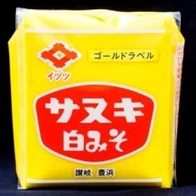 讃岐白味噌ゴールドラベル 500g×10個入り