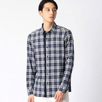 【SALE(三越)】<COMME CA MEN > スペック染めチェックシャツ(0719IF15) 51ソノタガラ 【三越・伊勢丹/公式】