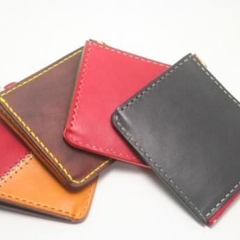 ♪オーダーメイド レザー コンパクト 財布 小さい財布 L字ファスナーウォレット♪