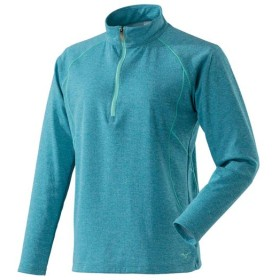 MIZUNO SHOP [ミズノ公式オンラインショップ] ブレスサーモライトインナージップネックシャツ[レディース] 27 ターキッシュタイル A2MA8766