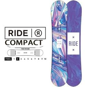 RIDE ライド COMPACT コンパクト スノーボード  スノボ 板 ボード レディース ツイン ロッカー 150 得割65 送料無料