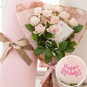 【最速で翌日配送対応】レター・ローズPale PINK =バラに気持ちを託して=
