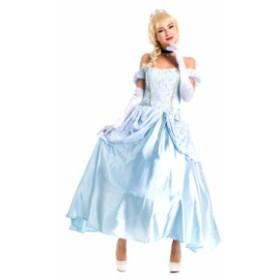 衣装服 ドレス ハロウィン パフォーマンス 舞台衣装 パーティー歌手服 イベント女ダンス  シンデレラ 風
