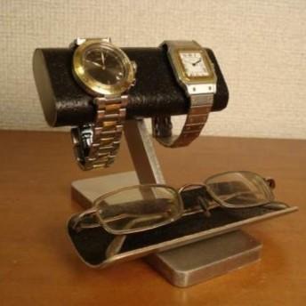 人気商品!ブラックコルクだ円パイプ腕時計ディスプレイ、眼鏡スタンド No.111226