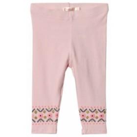 ビリーブラッシュ レギンス スパッツ キッズ 女の子【Billieblush Pale Pink Printed Zig Zag Leggings】