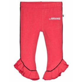 レギンス スパッツ キッズ 男の子【The BRAND Red Melange Flounce Leggings】