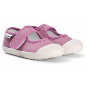 サンダル ストラップ キッズ 男の子【Kuling Pink Ballerina Shoes】