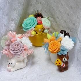 「再販」石鹸彫刻 動物たちからのプレゼント