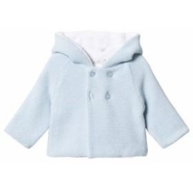 カーディガン ボレロ キッズ 女の子【Dr Kid Blue Knitted Hooded Pom Pom Cardigan】
