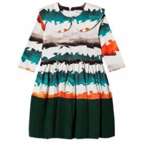 ドレス カジュアルドレス キッズ 女の子【Wolf & Rita Watercolor Stripes Palmira Dress】