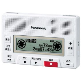 Panasonic製 ICレコーダー RR-SR350-W