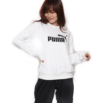 プーマ PUMA レディース スウェットトレーナー ESS ロゴ クルースウェット 853884