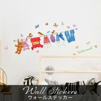 ウォールステッカー おしゃれ 子供部屋 女の子 子供 動物 英文 キャラクター くま 蝶 鳥 靴 トイレ 大きい カフェ キッチンドア