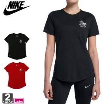 半袖Tシャツ ナイキ NIKE レディース ドライフィット ピザ Tシャツ ao8542 1809 半袖 Tシャツ