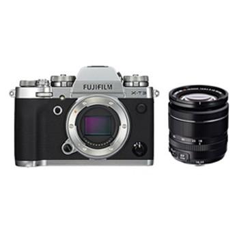 【フジフイルム】 小型一眼カメラ 1本レンズキット(標準ズーム) 4K X-T3LK-S デジタル一眼カメラ