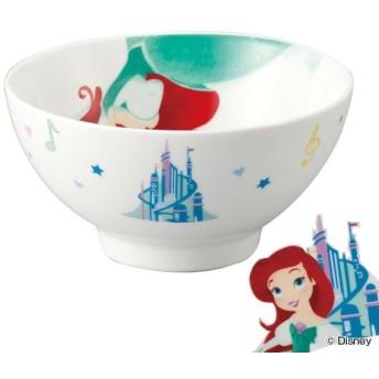 お茶碗 子供 アリエル ディズニープリンセス ご飯茶碗 磁器 食器 キャラクター ( 子供用食器 茶碗 食洗機対応 飯椀 電子レンジ対応 お椀 )