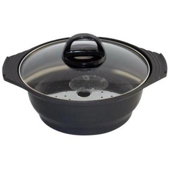 杉山金属 土鍋&蒸し器 25cm KS-2789